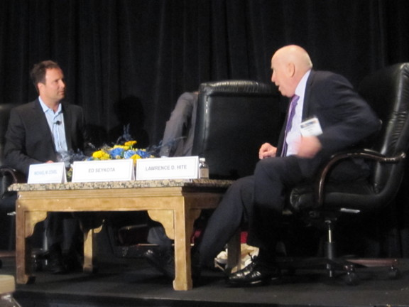 Larry Hite Hedge Fund Manager being Interviewed by Michael