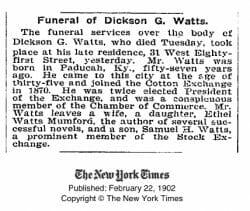Dickson Watts