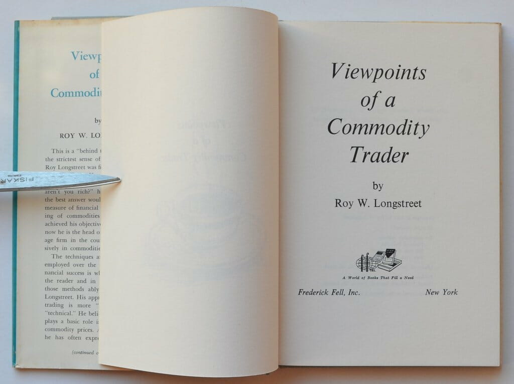 Which of the following is not a commodity, read the views of Roy Longstreet