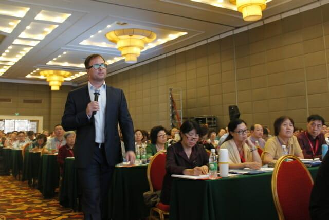Michael Covel in Beijing