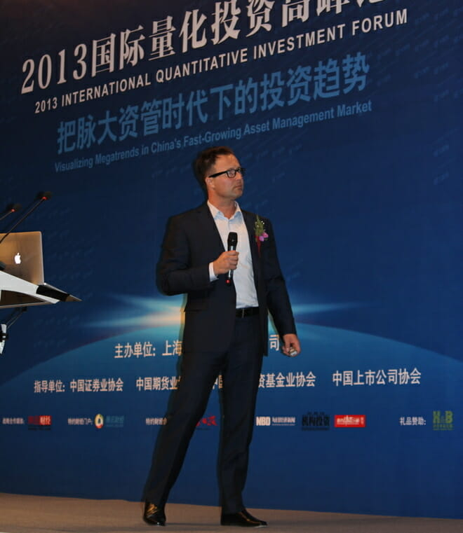 Michael Covel in China