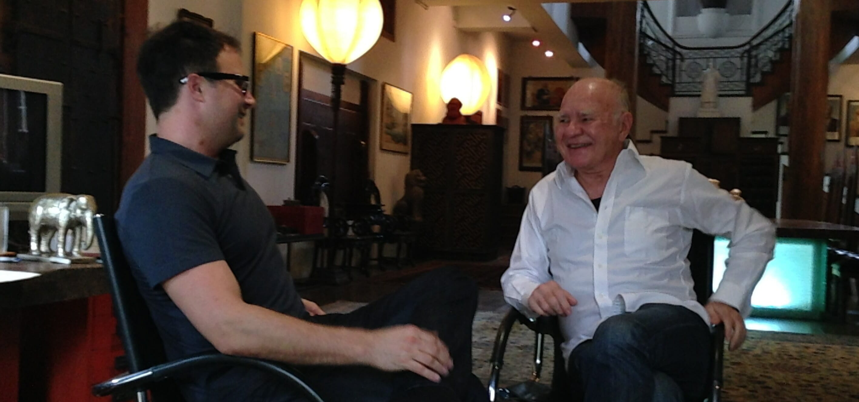 Michael Covel and Marc Faber