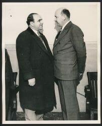 Al Capone and Frank Mast