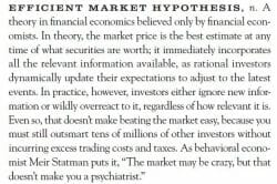Jason Zweig on Efficient Markets