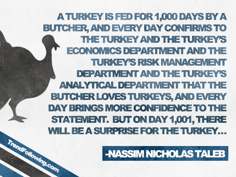 Turkey quote Nassim Taleb, black swan