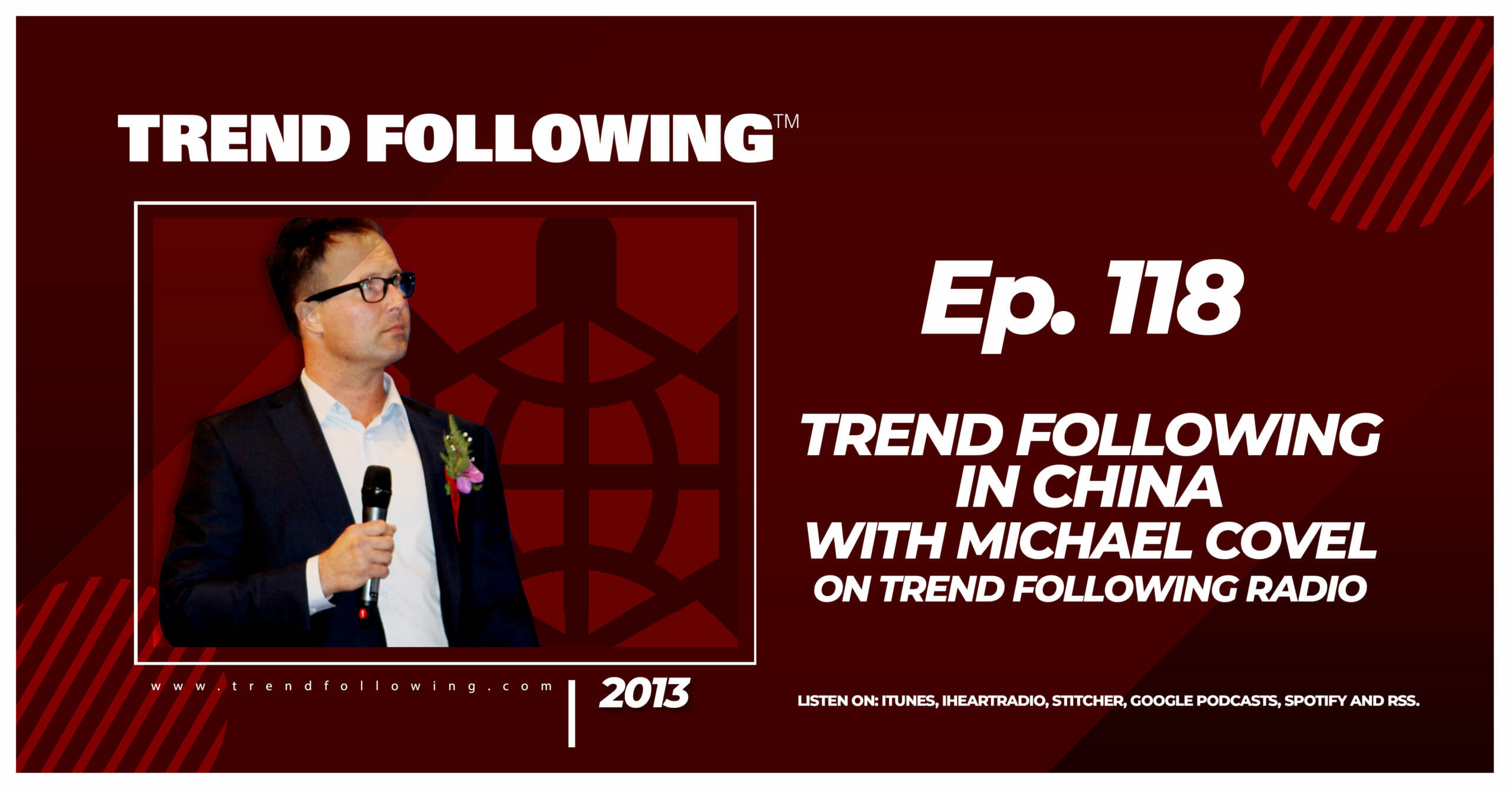 Trend Following in China with Michael Covel on Trend Following Radio