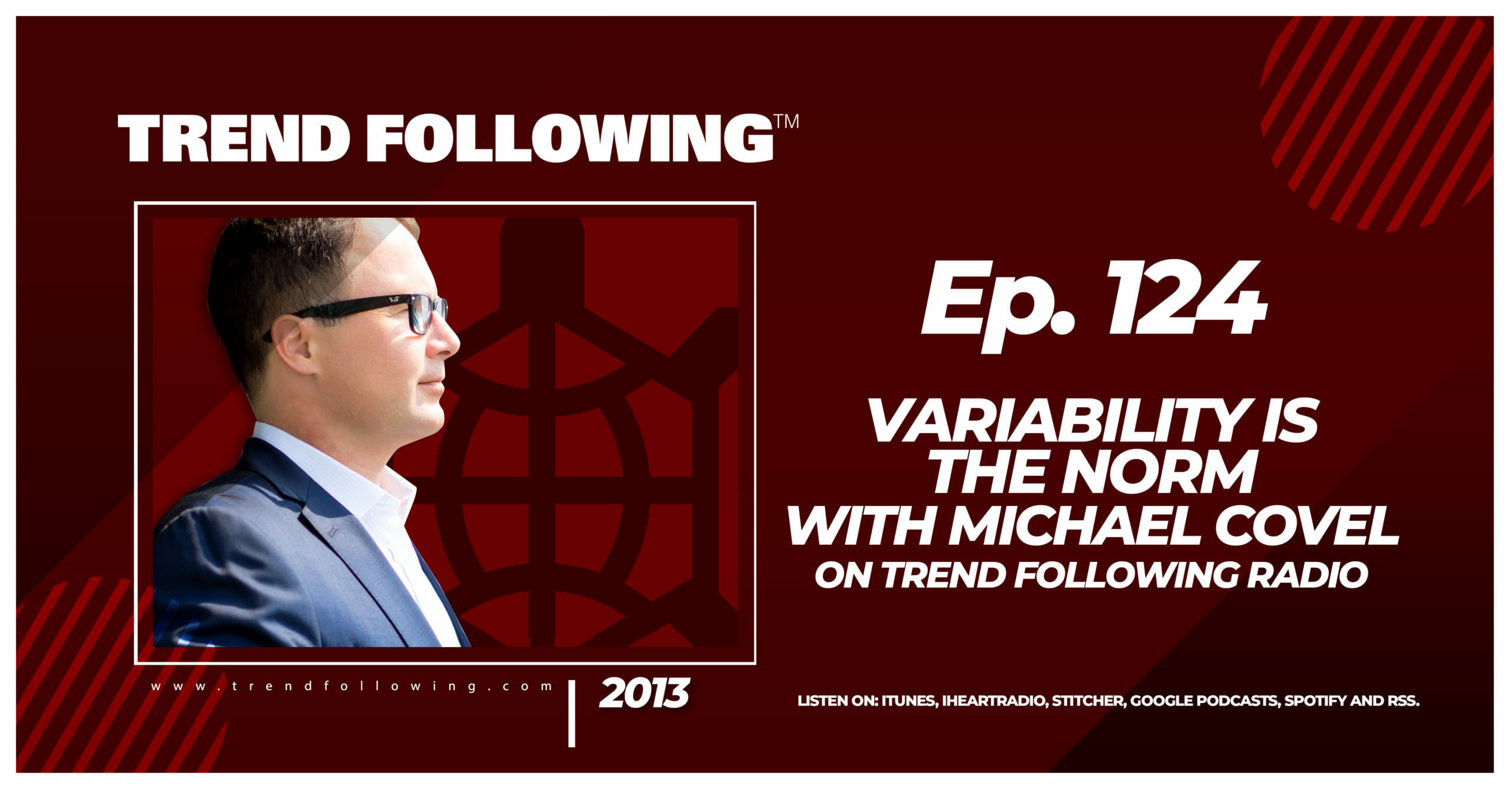 Variability is the Norm with Michael Covel on Trend Following Radio