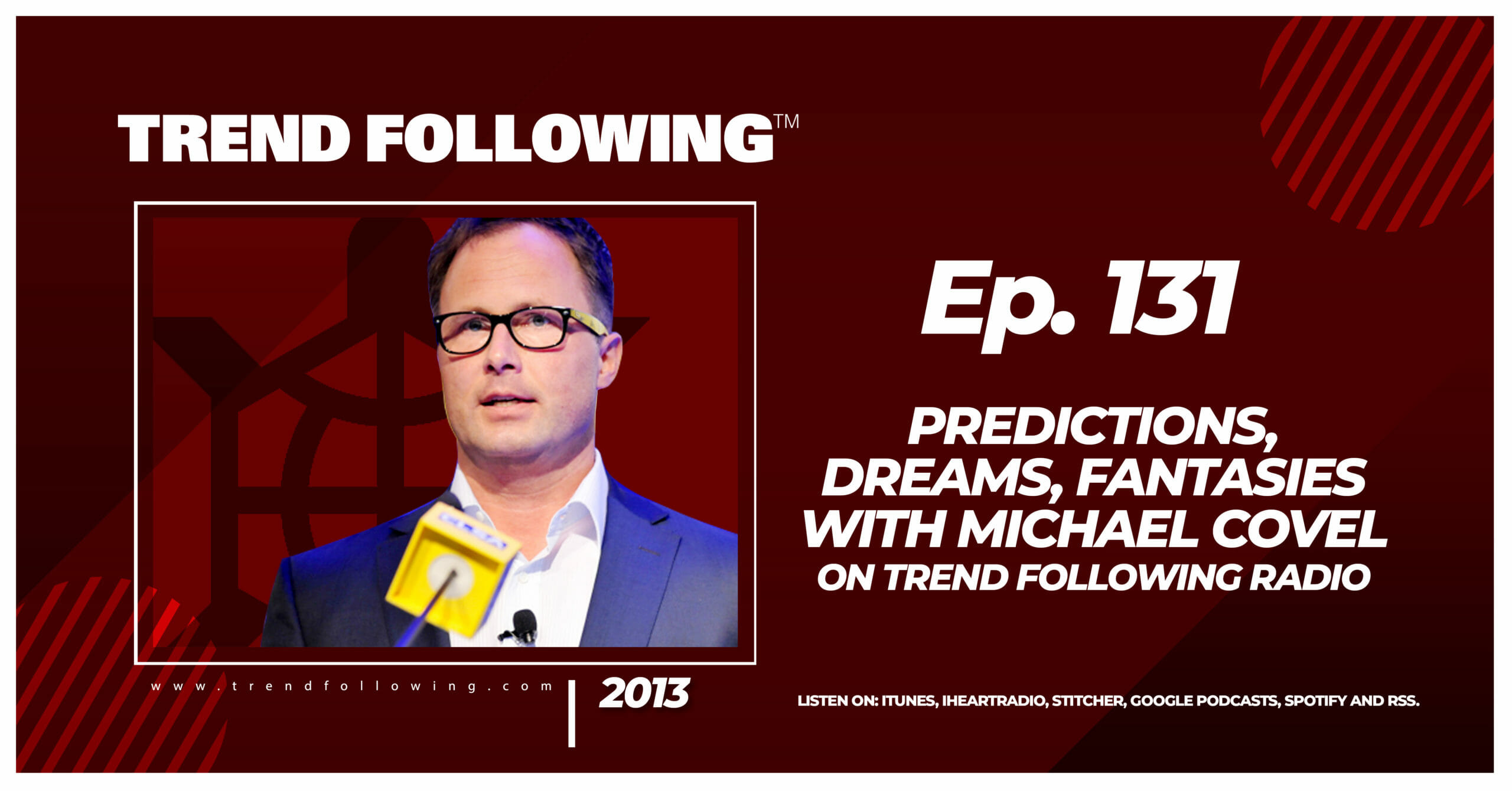 Predictions, Dreams, Fantasies with Michael Covel on Trend Following Radio