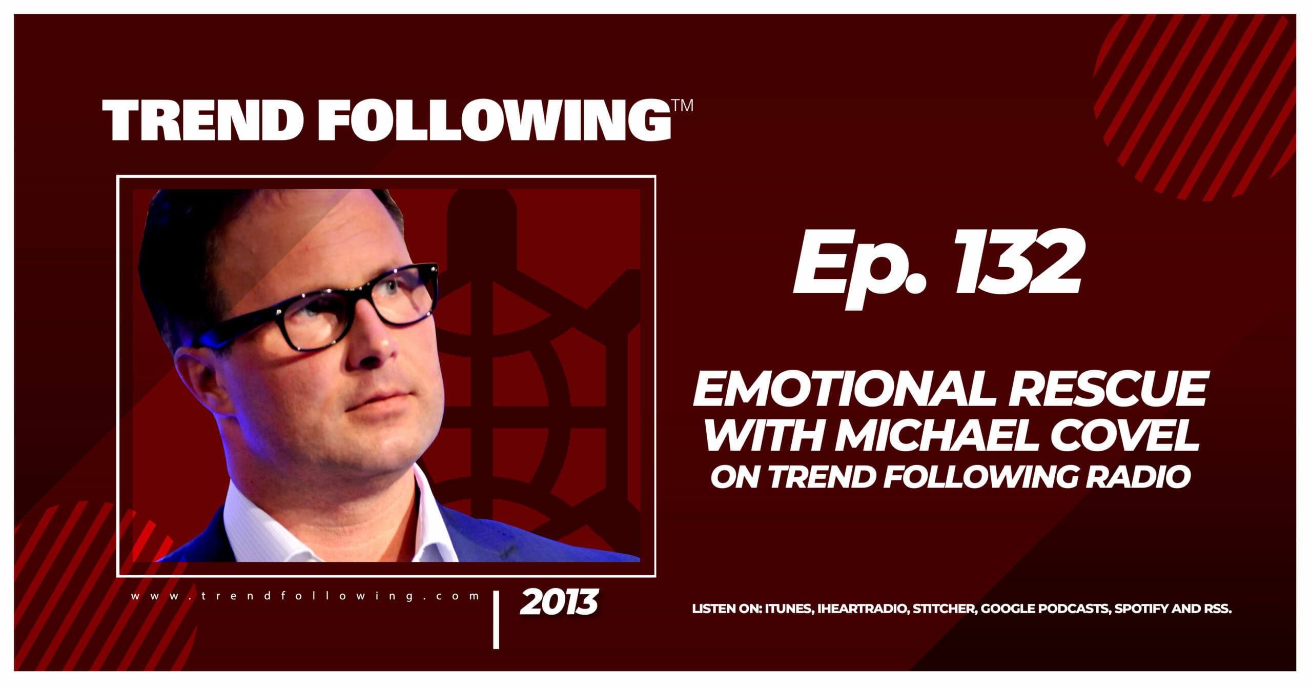 Emotional Rescue with Michael Covel on Trend Following Radio