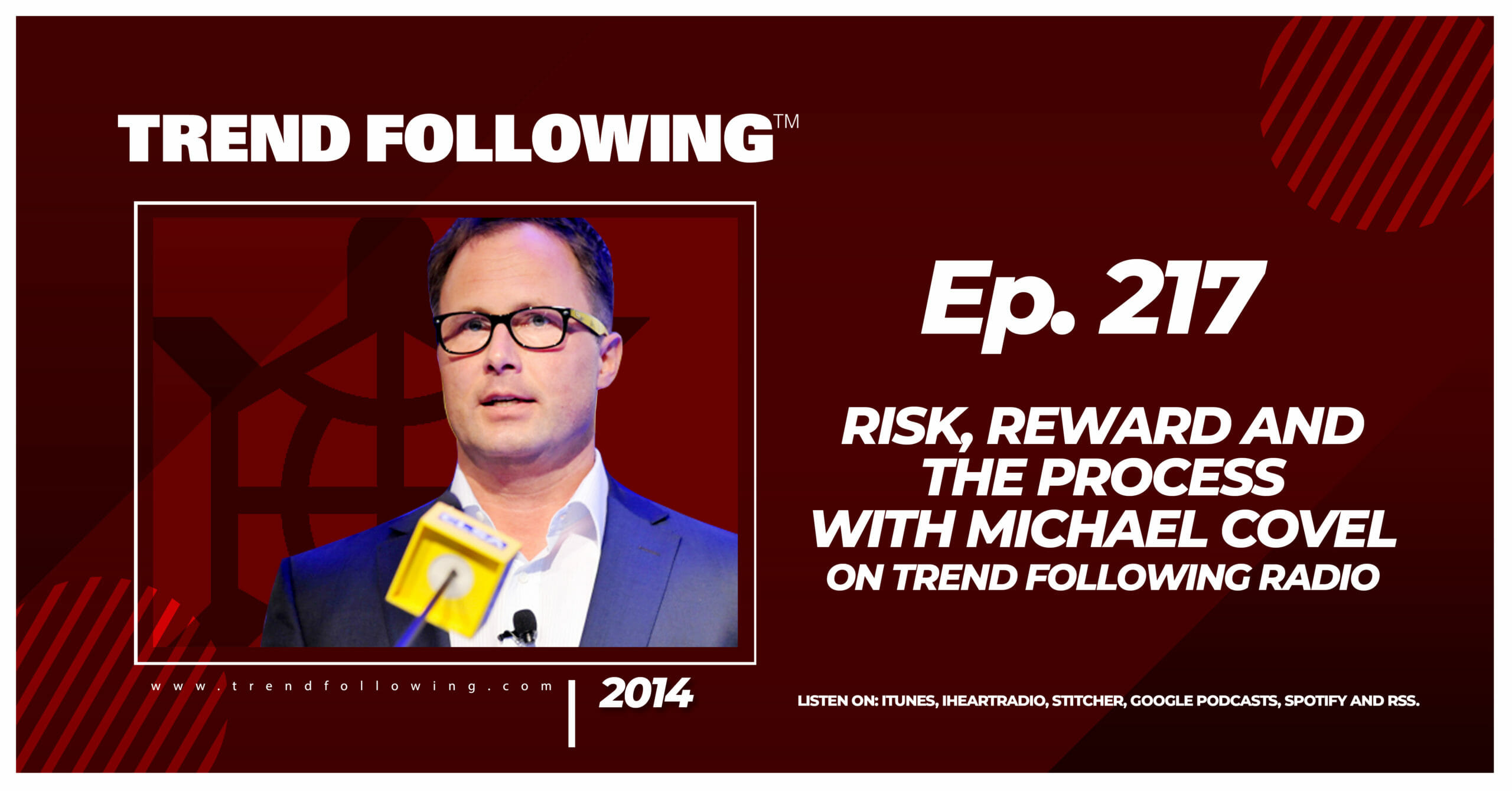 Risk, Reward and The Process with Michael Covel on Trend Following Radio