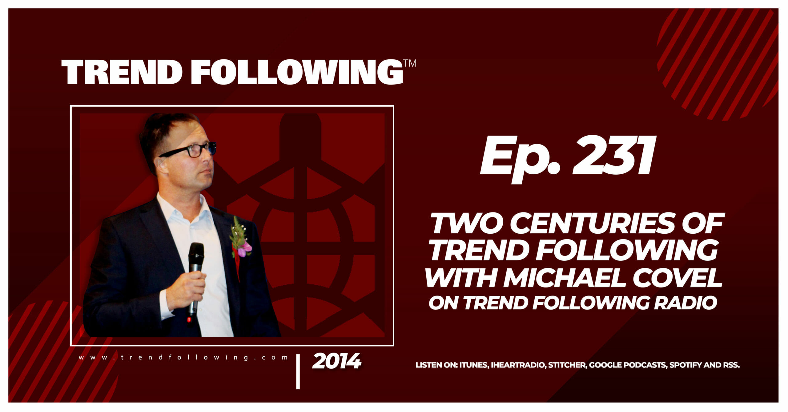 Two Centuries of Trend Following with Michael Covel on Trend Following Radio
