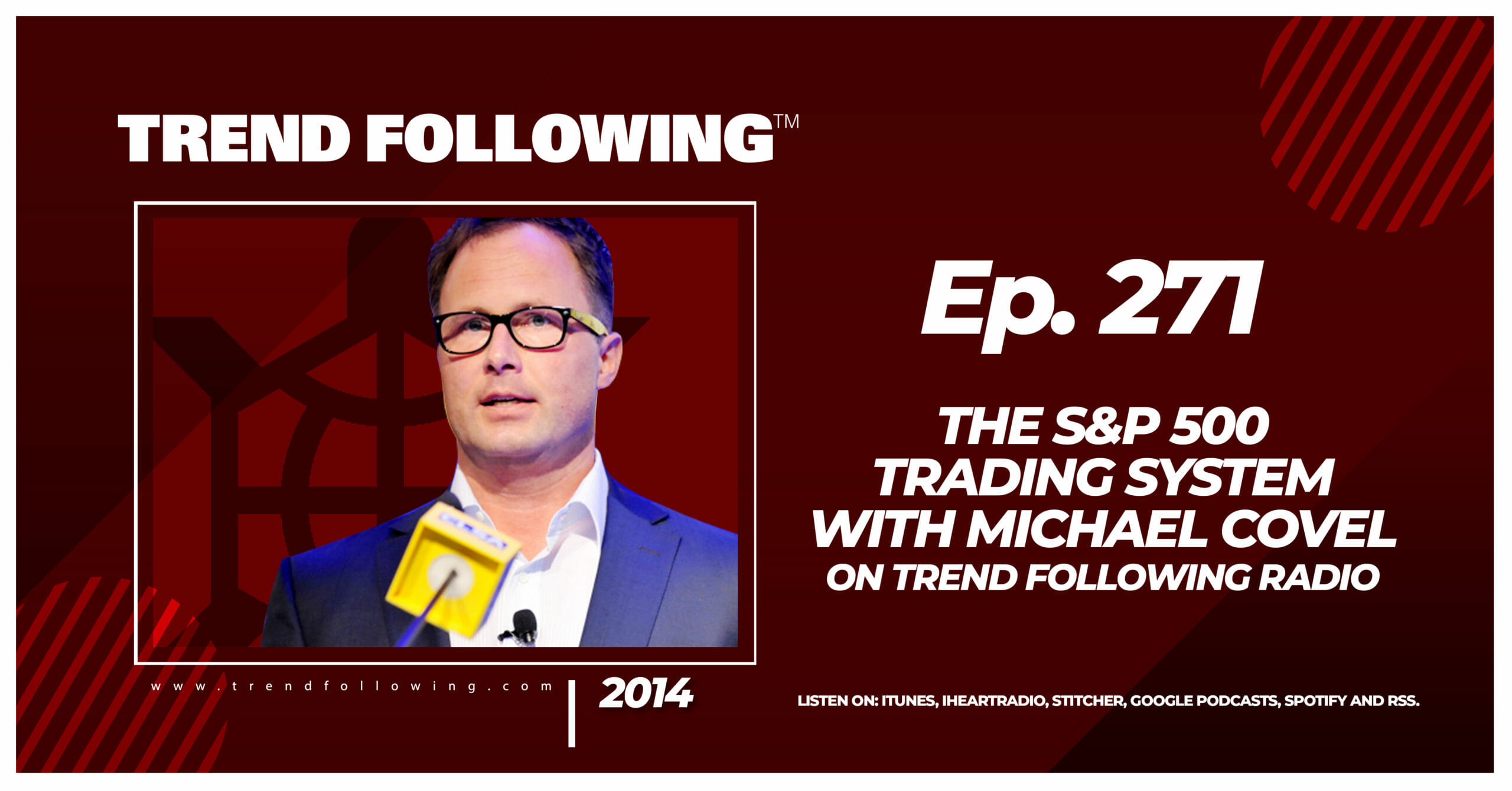 The S&P 500 Trading System with Michael Covel on Trend Following Radio