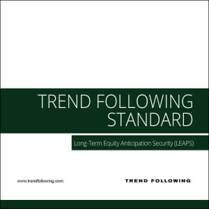 Trend Following Investment Research: Standard Package