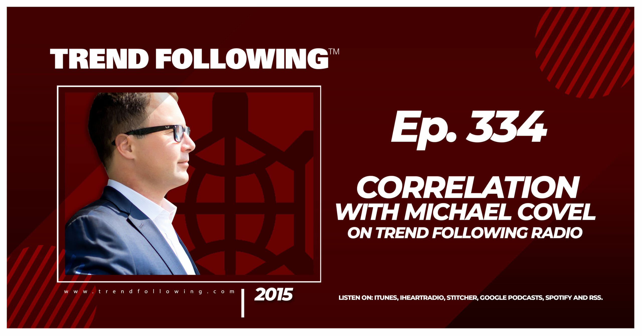 Correlation with Michael Covel on Trend Following Radio