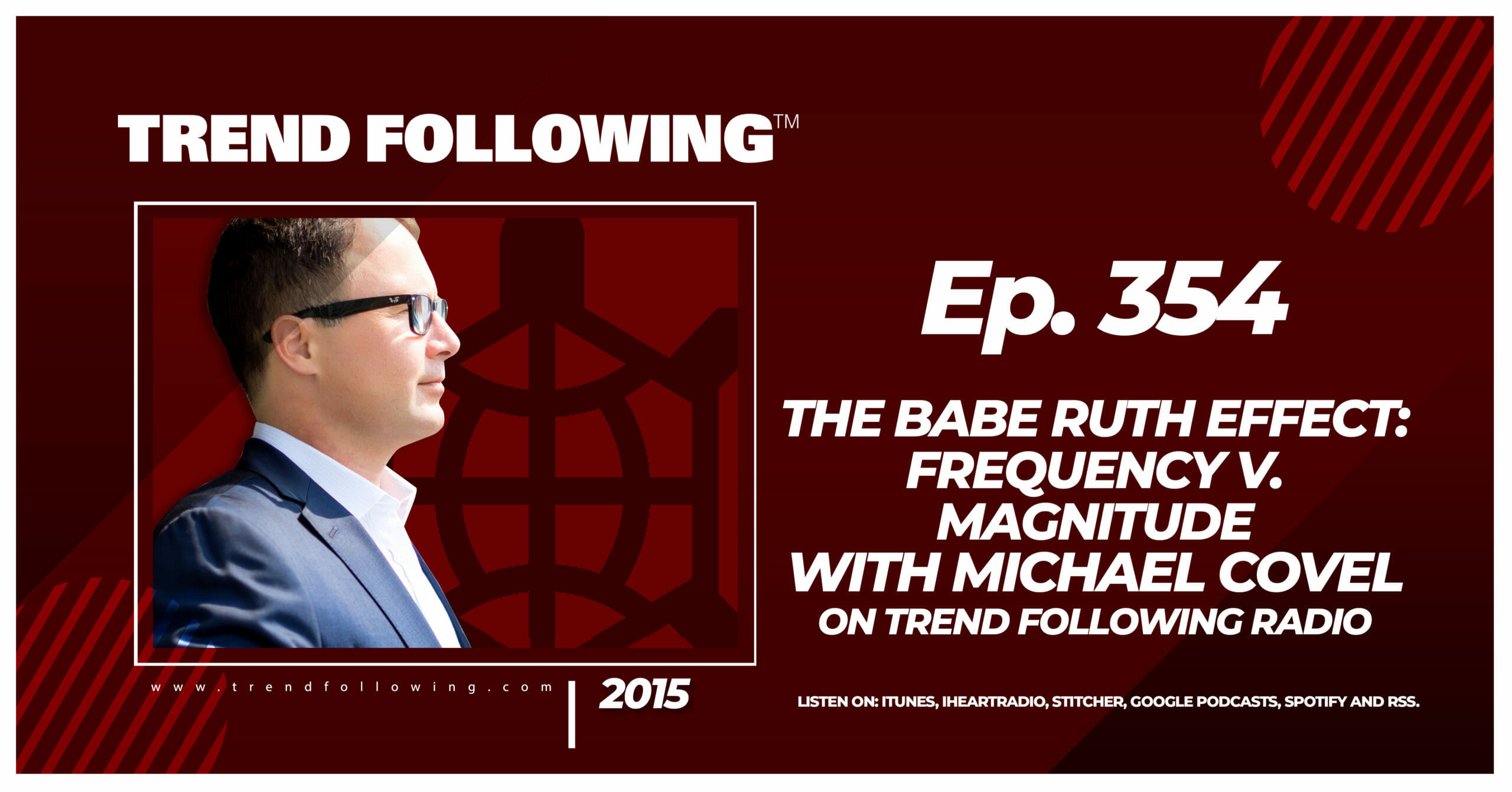 The Babe Ruth Effect: Frequency v. Magnitude with Michael Covel on Trend Following Radio