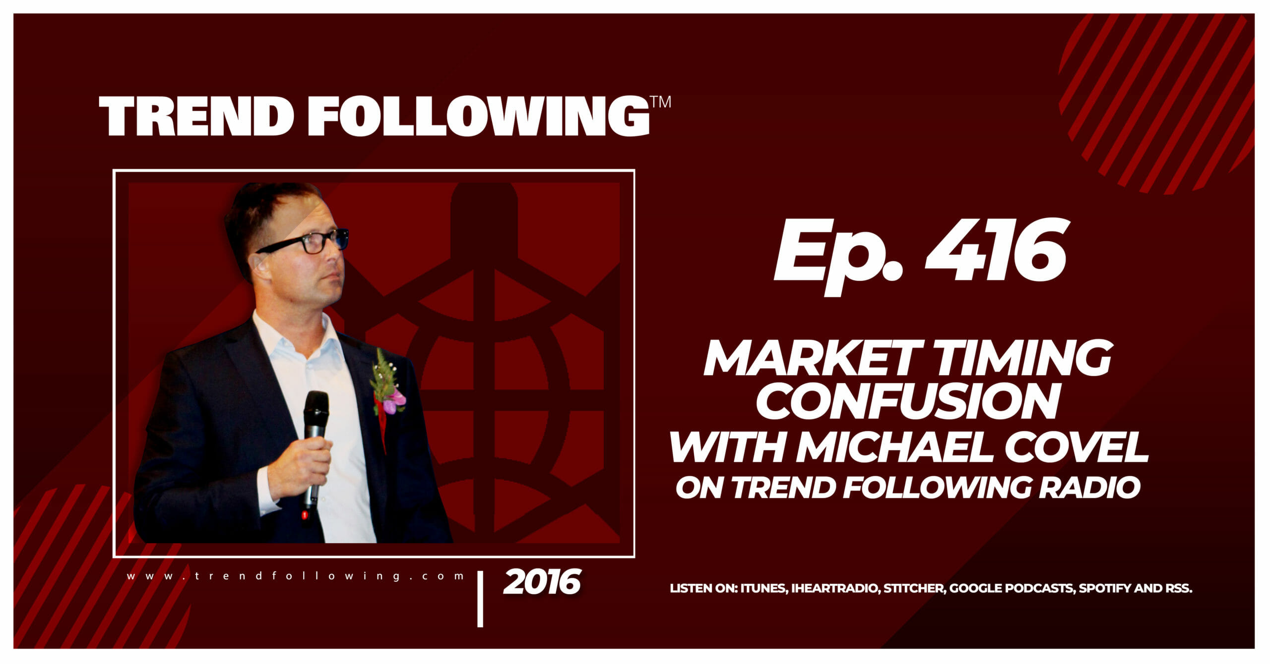 Market Timing Confusion with Michael Covel on Trend Following Radio