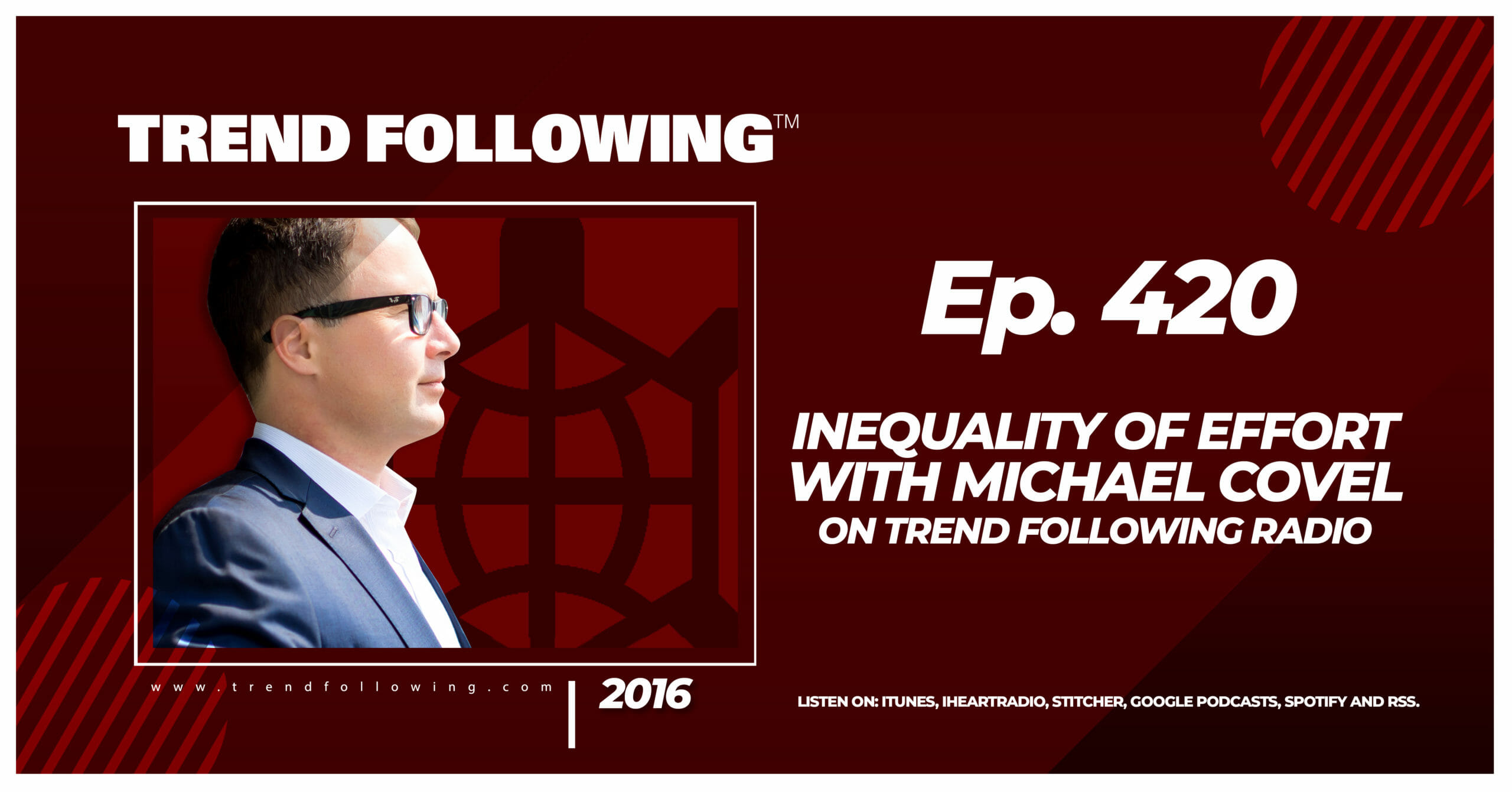 Inequality of Effort with Michael Covel on Trend Following Radio
