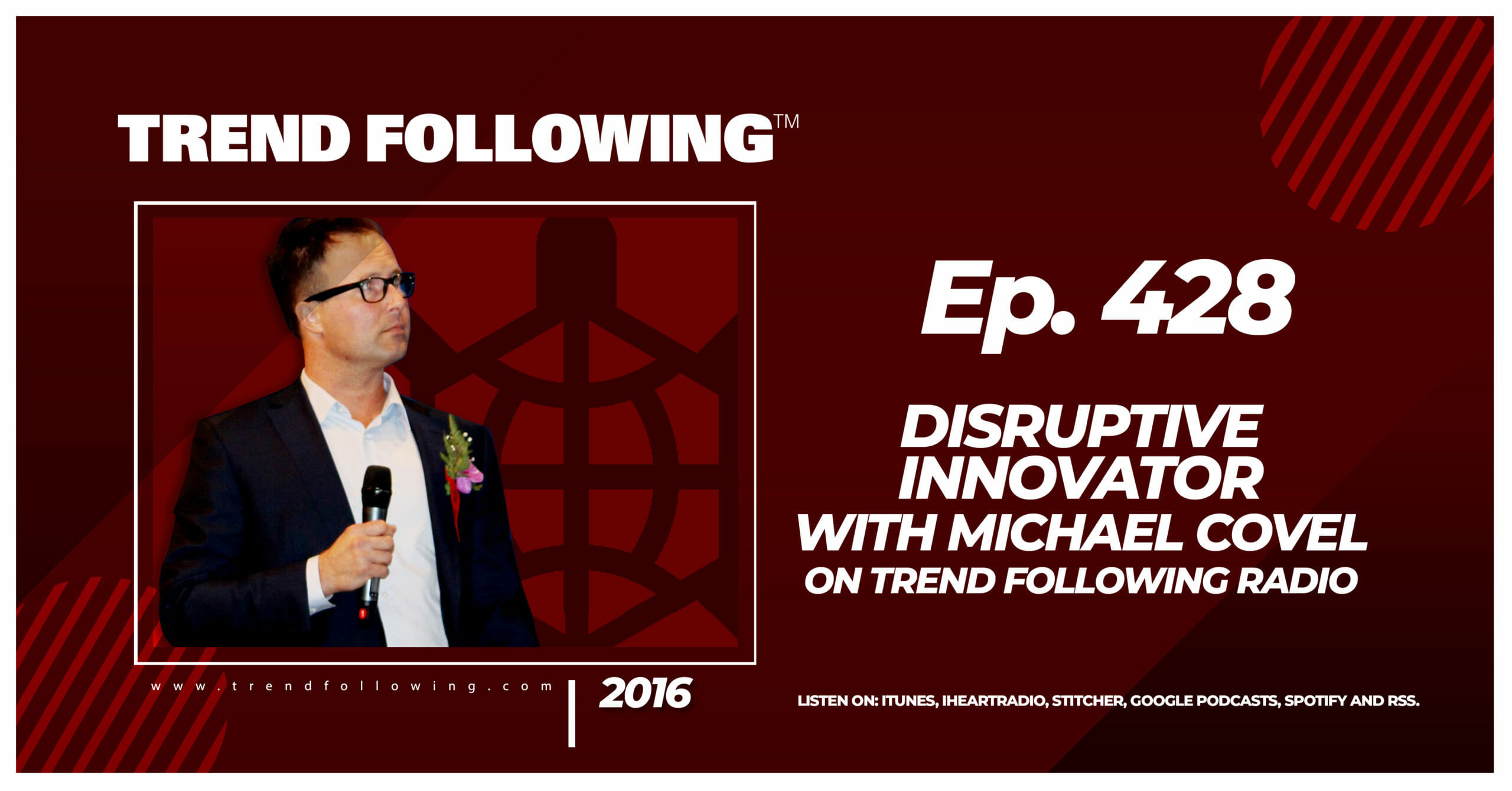 Disruptive Innovator with Michael Covel on Trend Following Radio