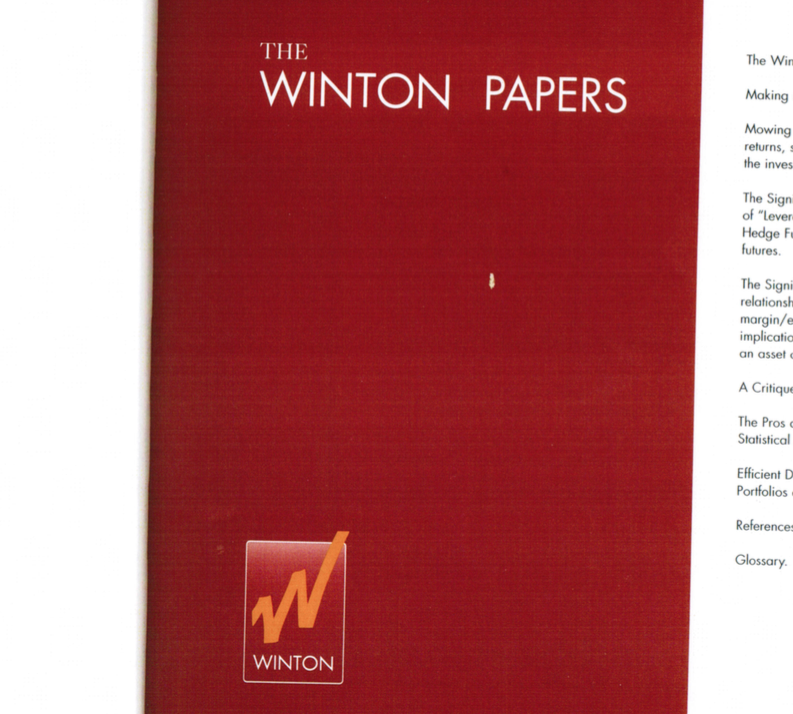 The Winton Papers