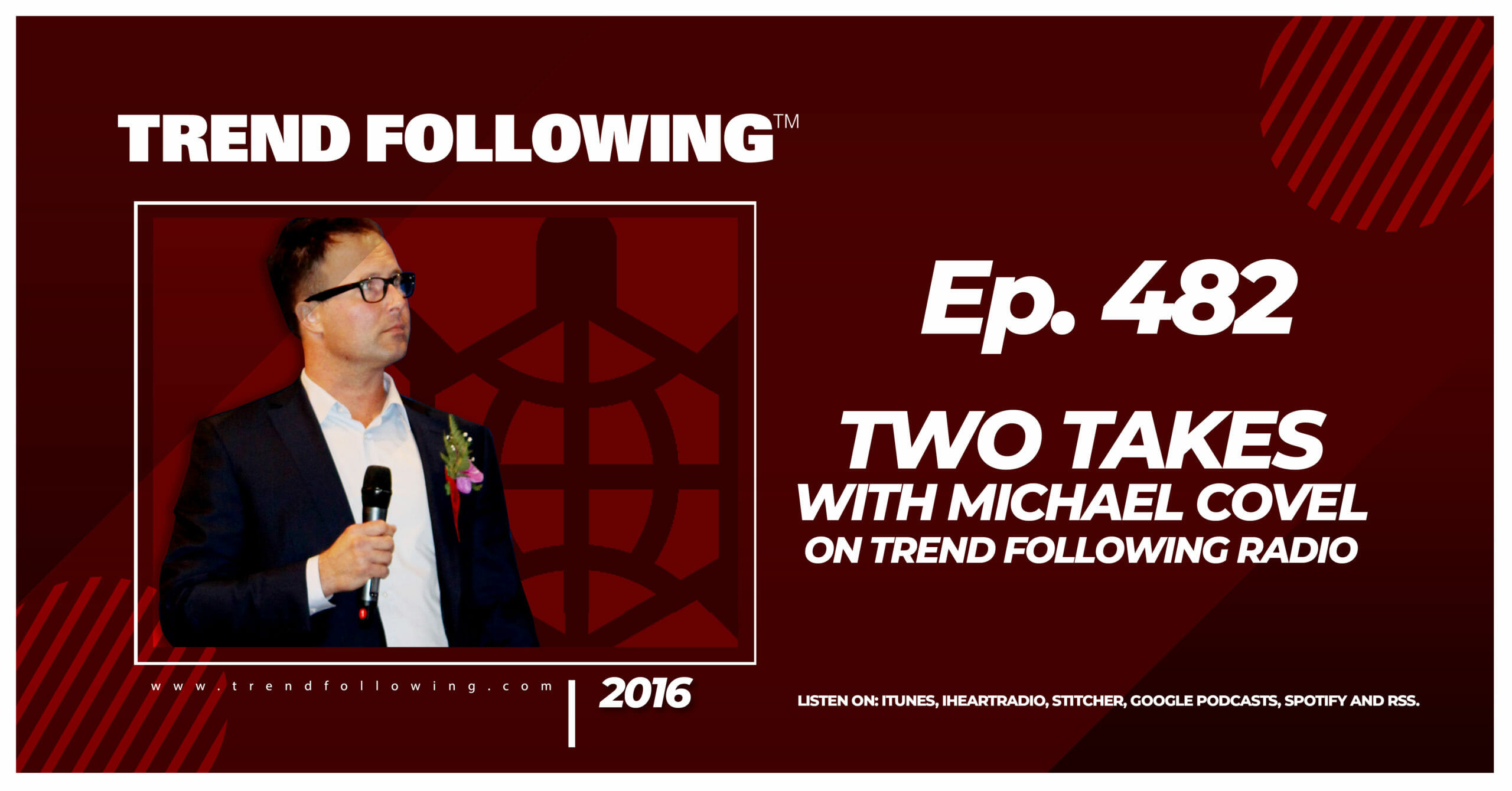 Two Takes with Michael Covel on Trend Following Radio