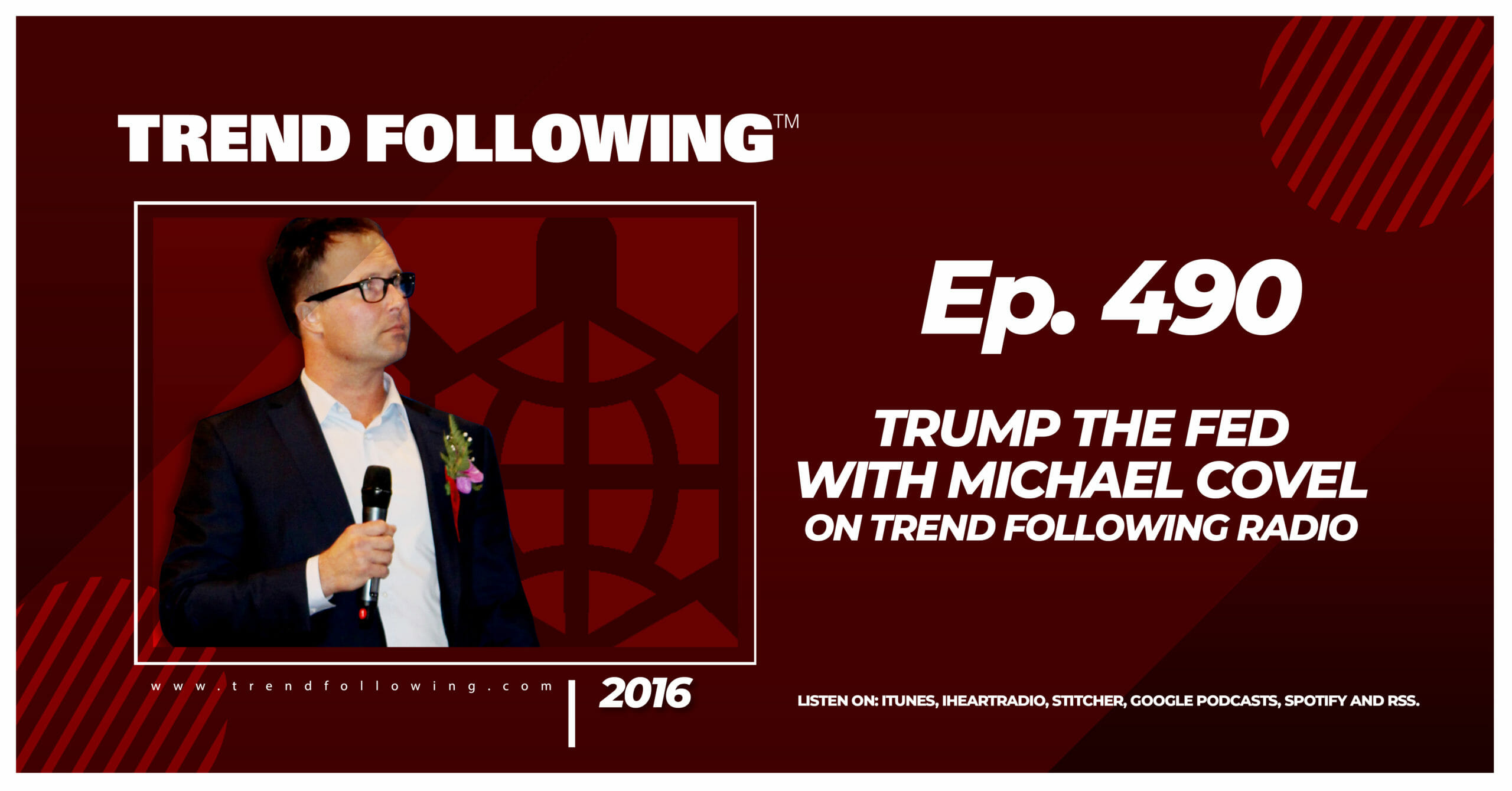 Trump the Fed with Michael Covel on Trend Following Radio