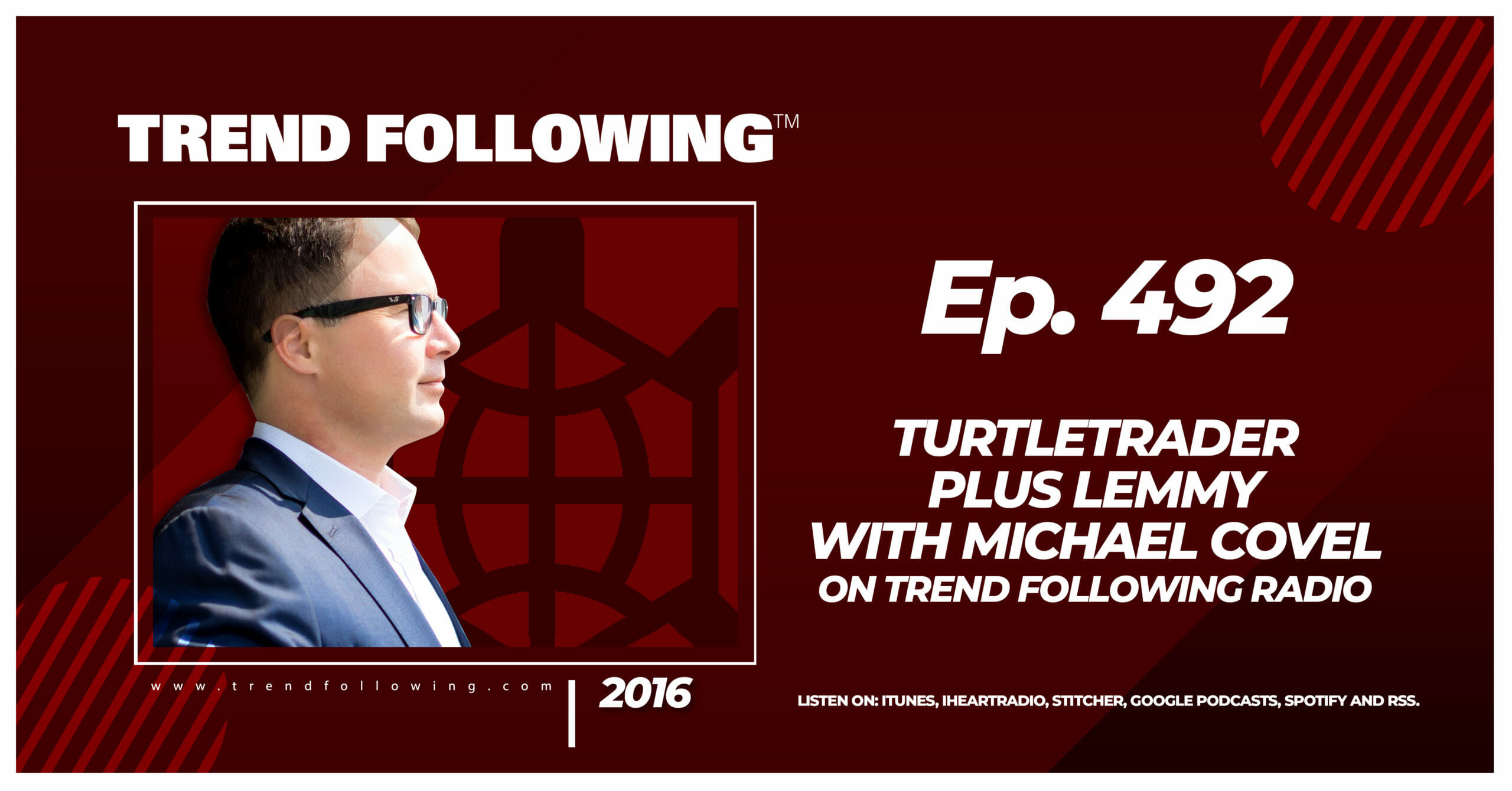 TurtleTrader Plus Lemmy with Michael Covel on Trend Following Radio