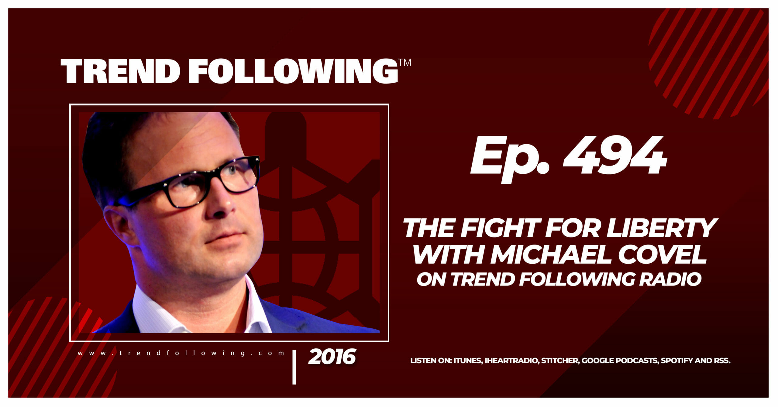 The Fight for Liberty with Michael Covel on Trend Following Radio