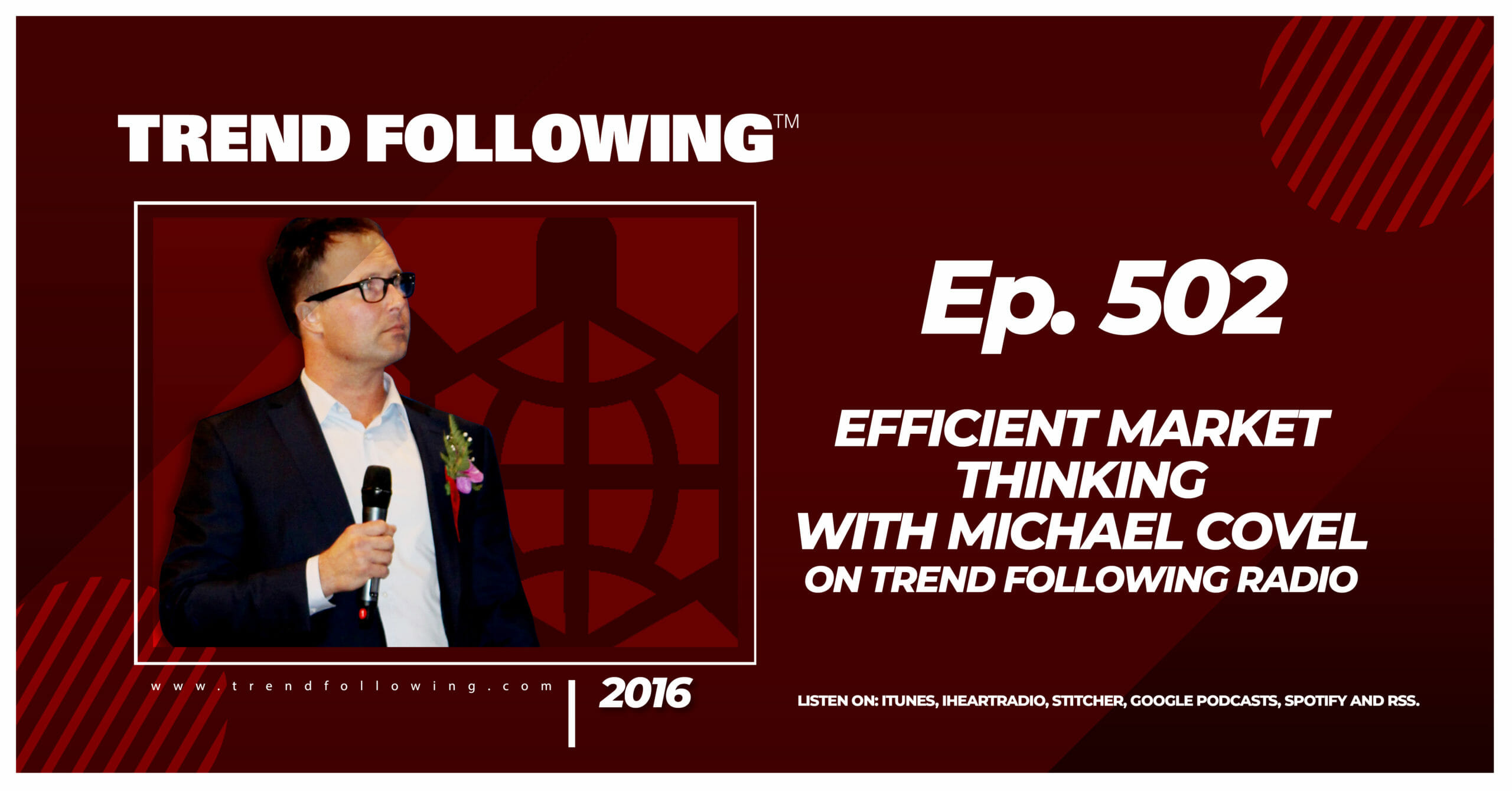 Efficient Market Thinking with Michael Covel on Trend Following Radio