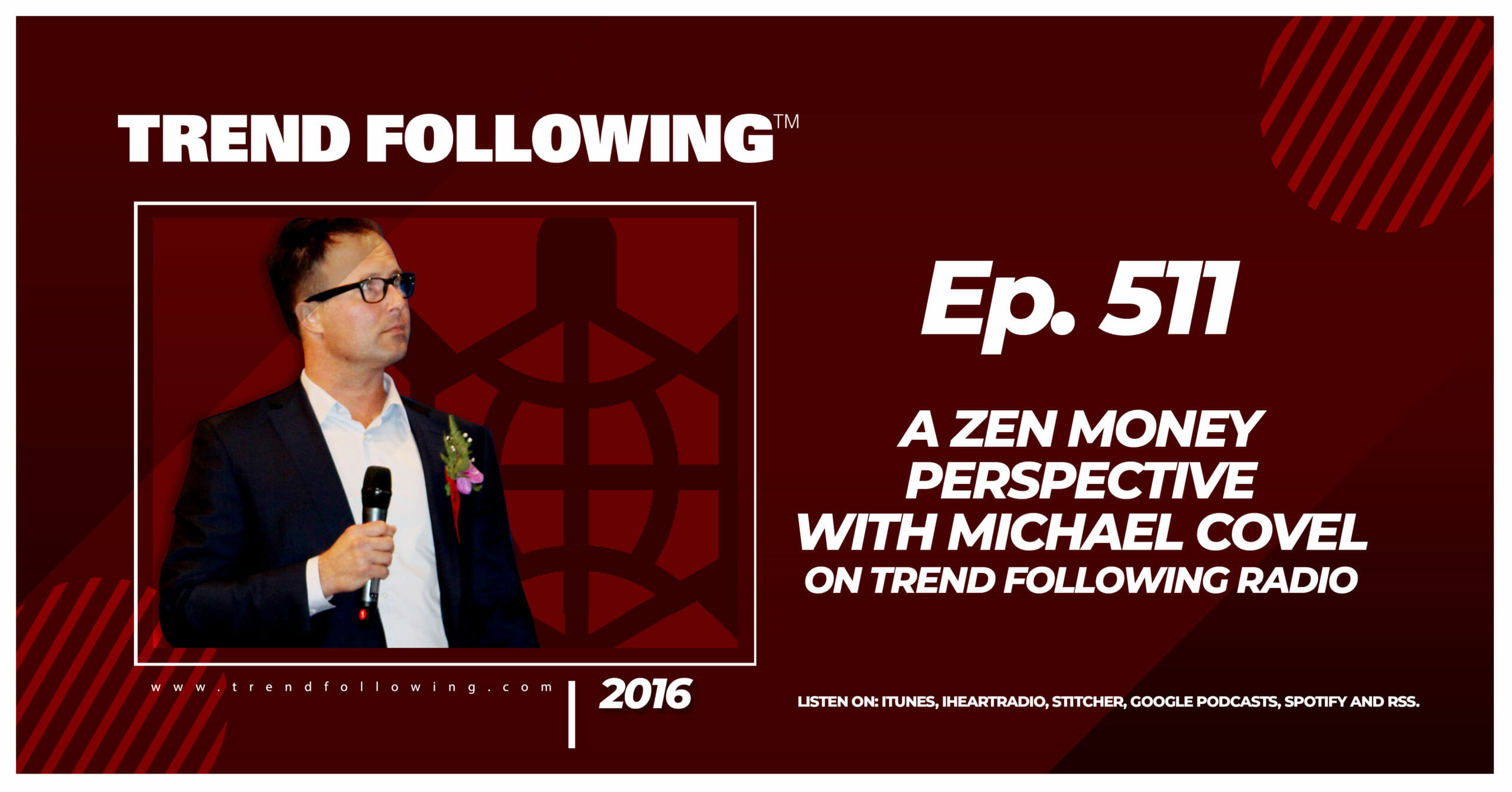 A Zen Money Perspective with Michael Covel on Trend Following Radio