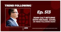 John Galt Returns with Michael Covel on Trend Following Radio