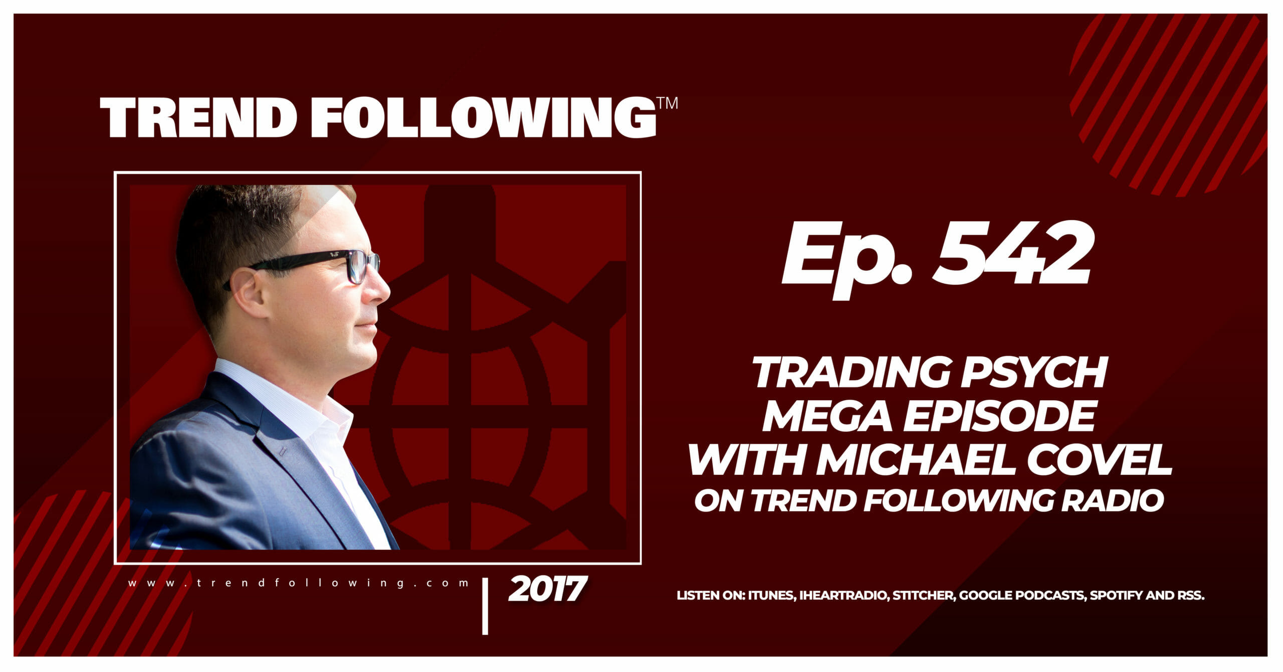 Trading Psych Mega Episode with Michael Covel on Trend Following Radio
