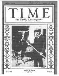 Arthur Cutten in Time Magazine December 10, 1928