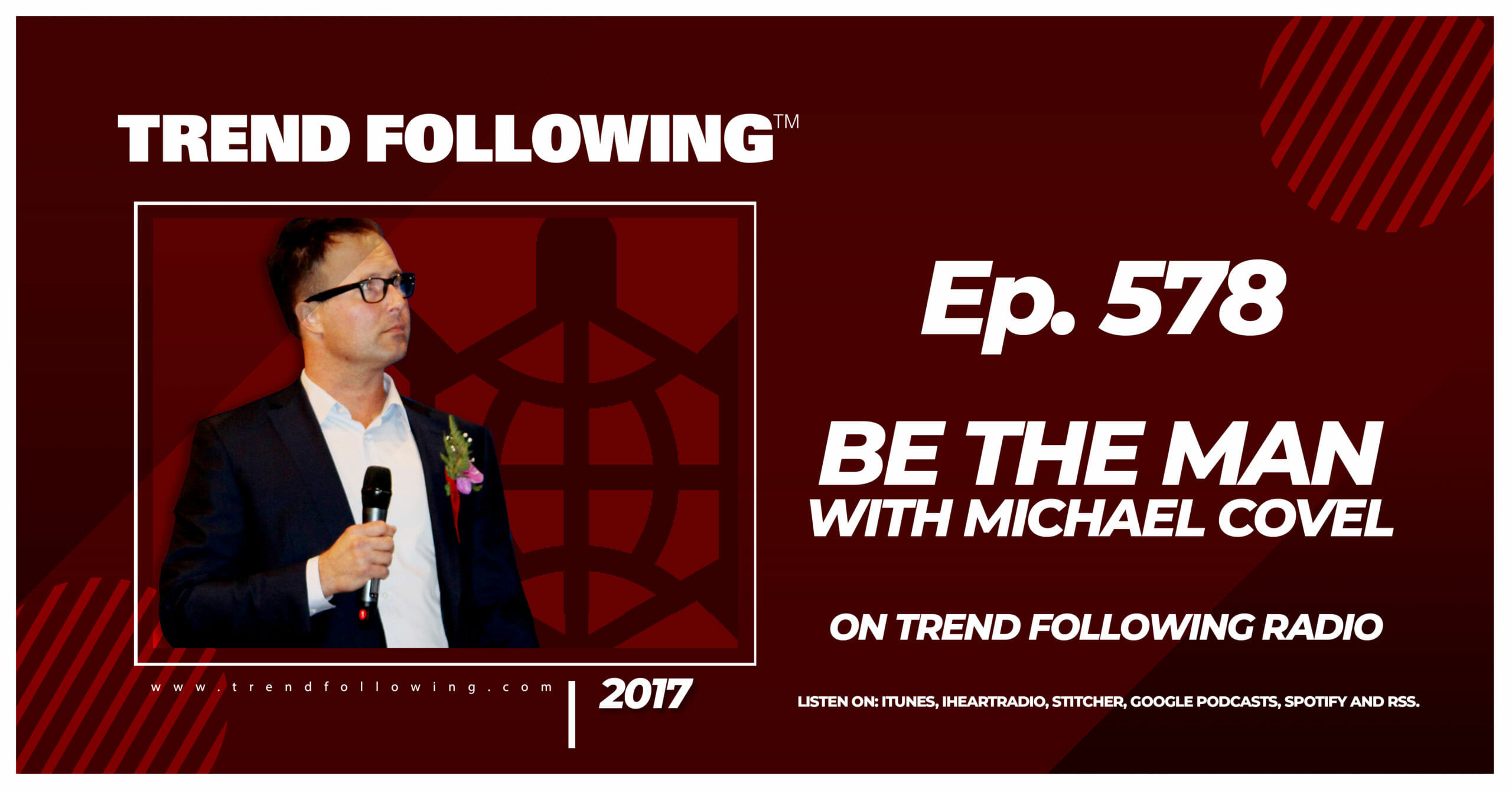 Be the Man with Michael Covel on Trend Following Radio