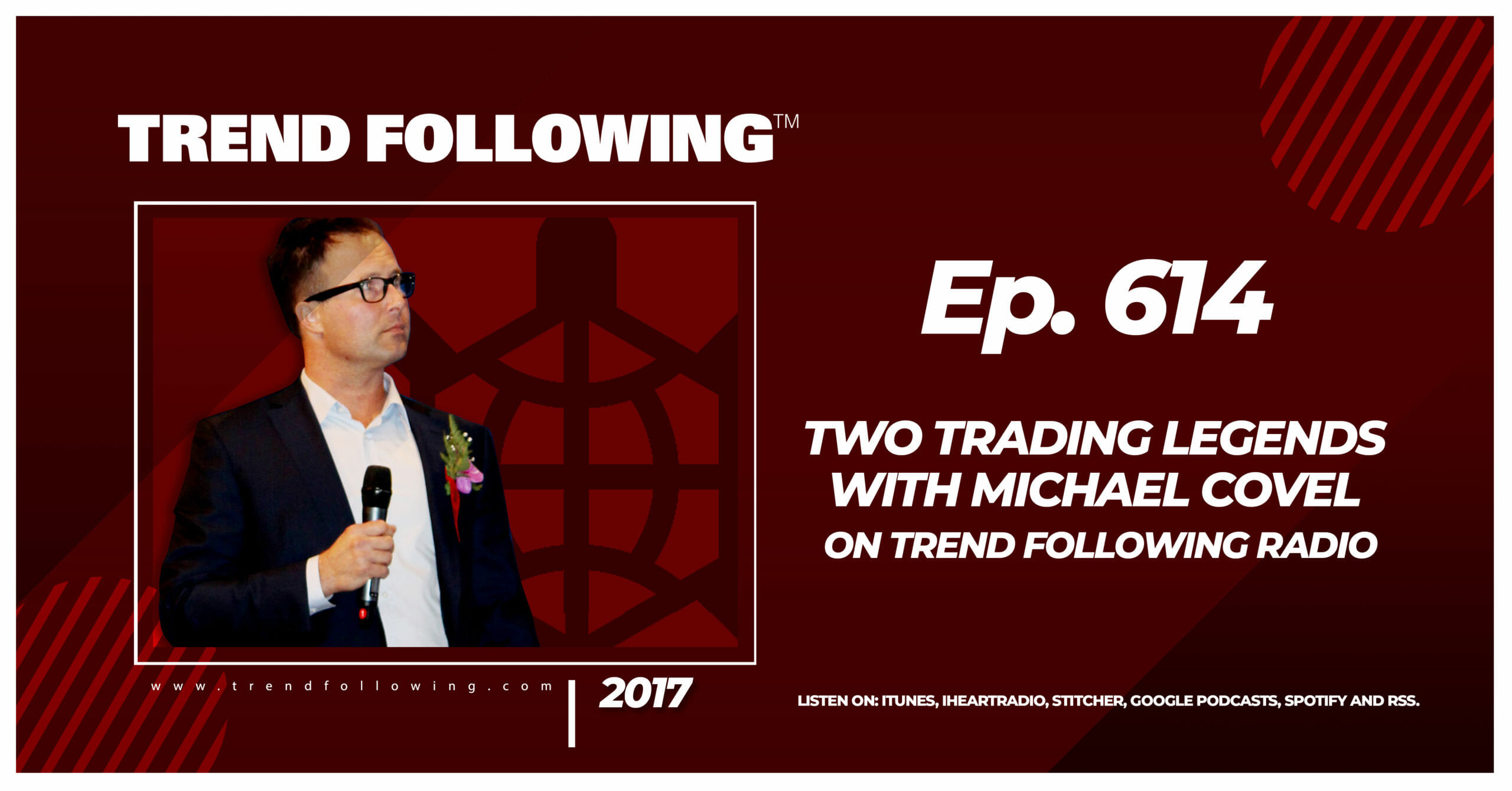 Two Trading Legends with Michael Covel