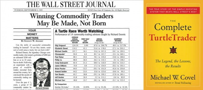 The TurtleTrader Book from Michael Covel