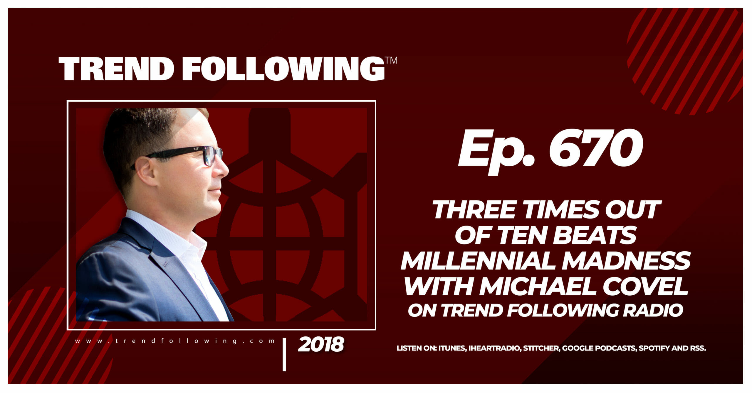 Three Times Out of Ten Beats Millennial Madness with Michael Covel