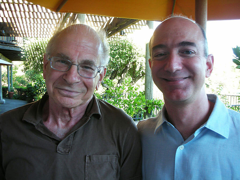 Danny Kahneman and Jeff Bezos