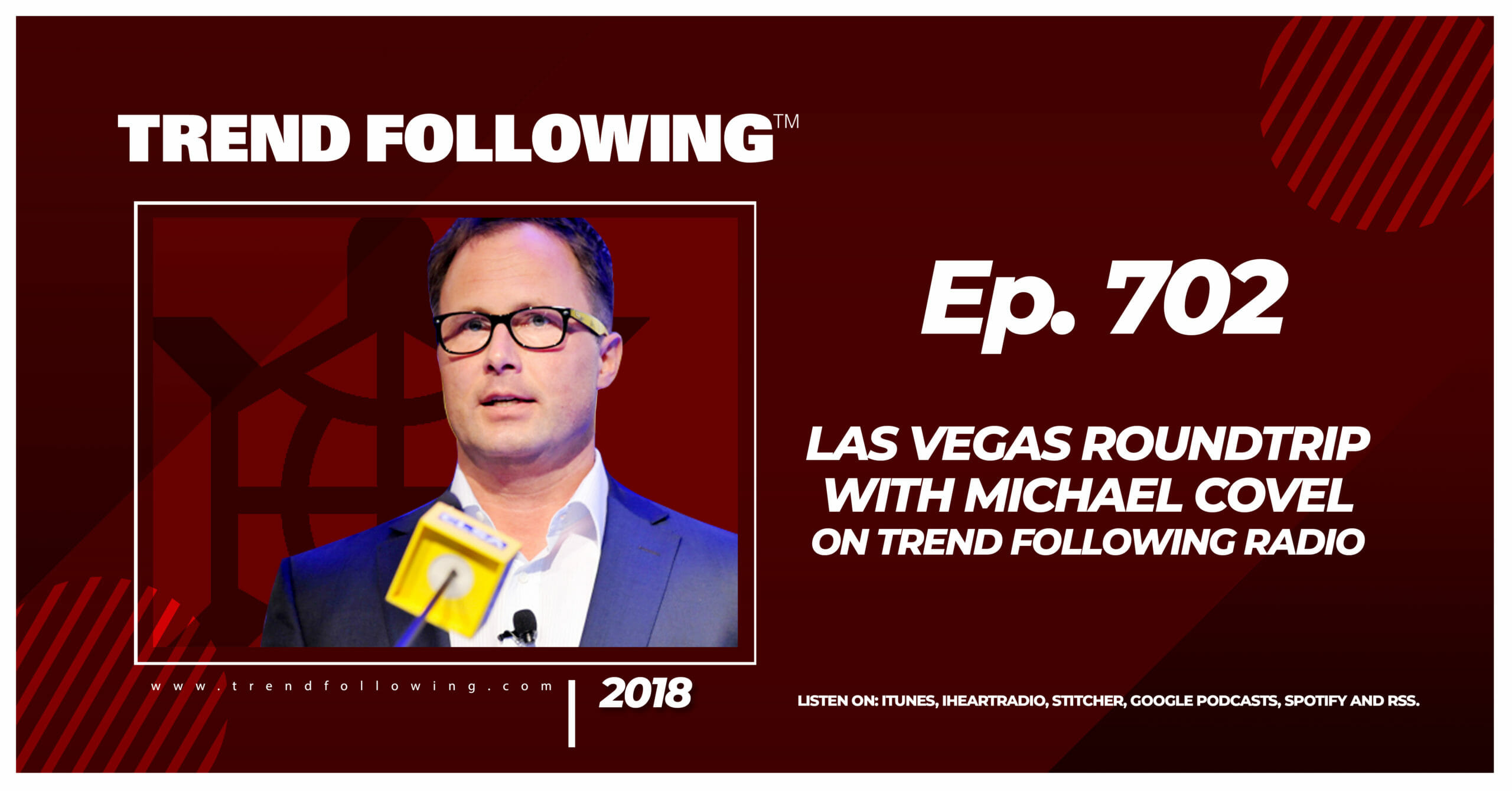 Las Vegas Roundtrip with Michael Covel on Trend Following Radio