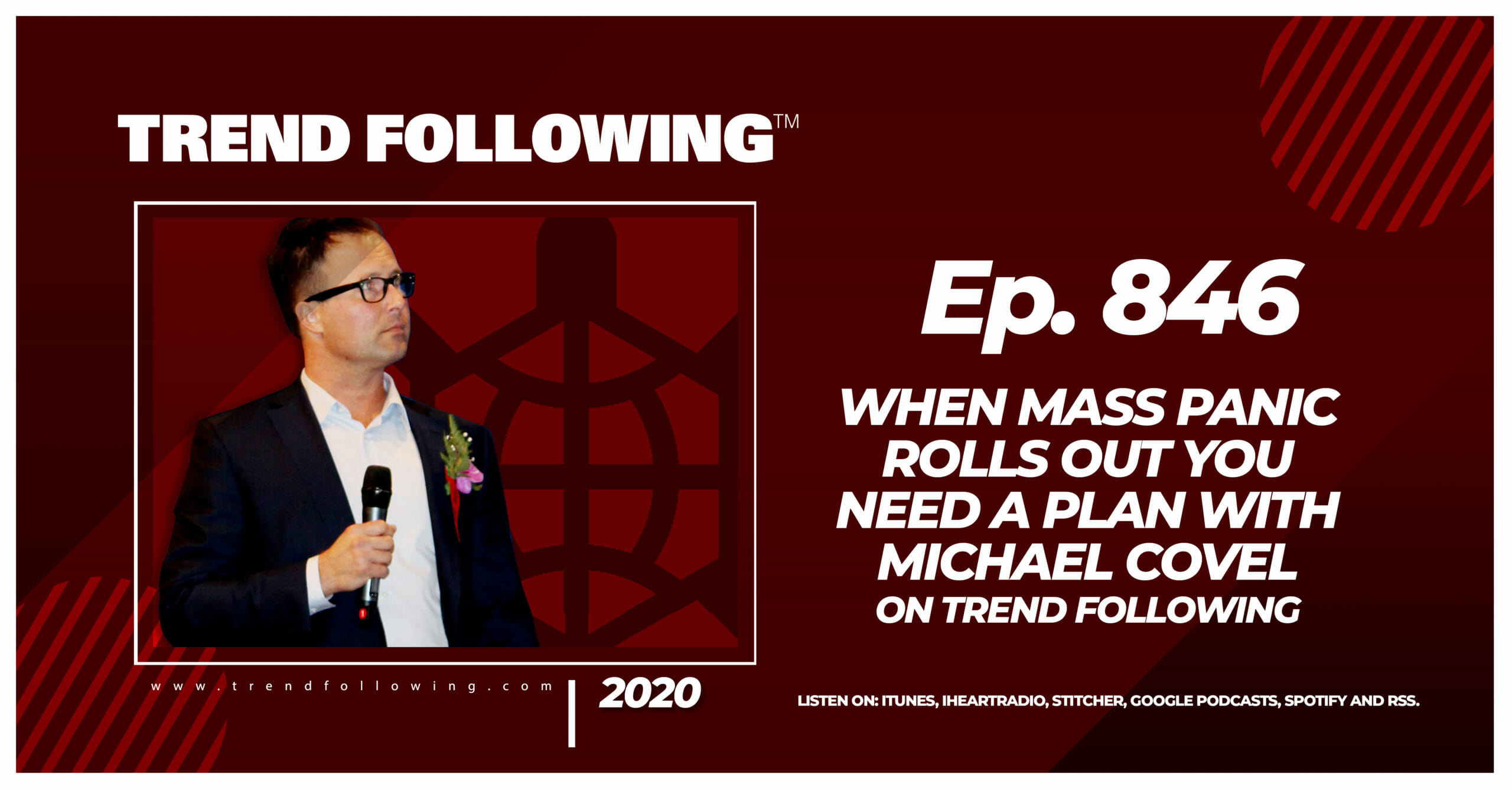 Episode 846 When Mass Panic Rolls Out You Need A Plan with Michael Covel