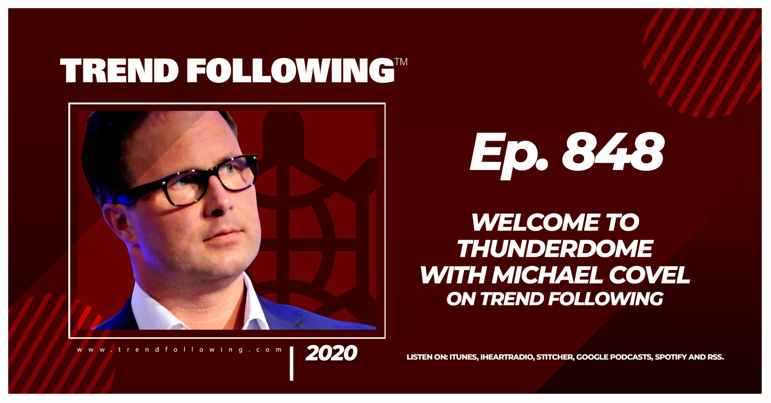 Episode 848 Welcome to Thunderdome with Michael Covel
