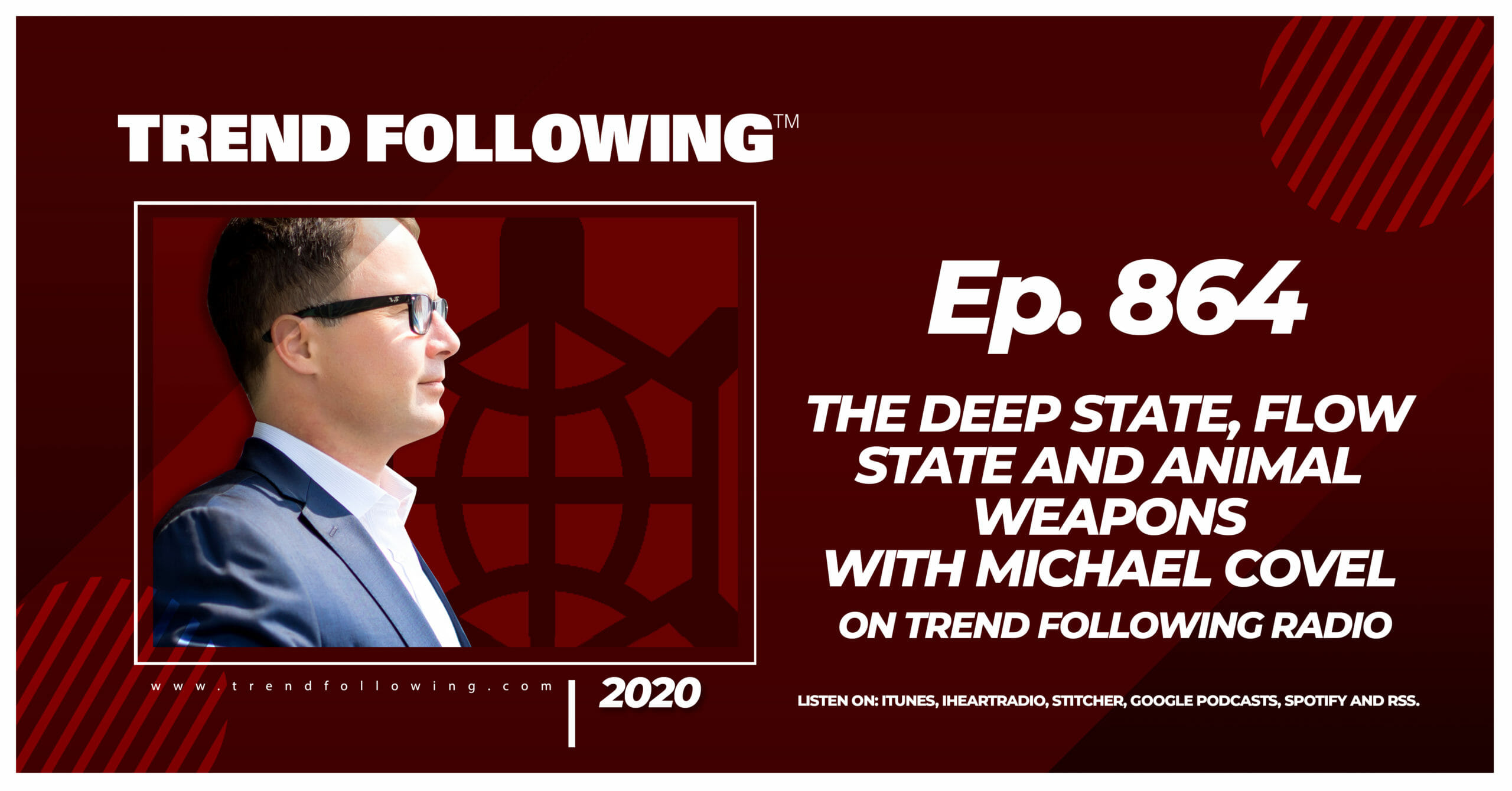 The Deep State, Flow State and Animal Weapons with Michael Covel on Trend Following Radio