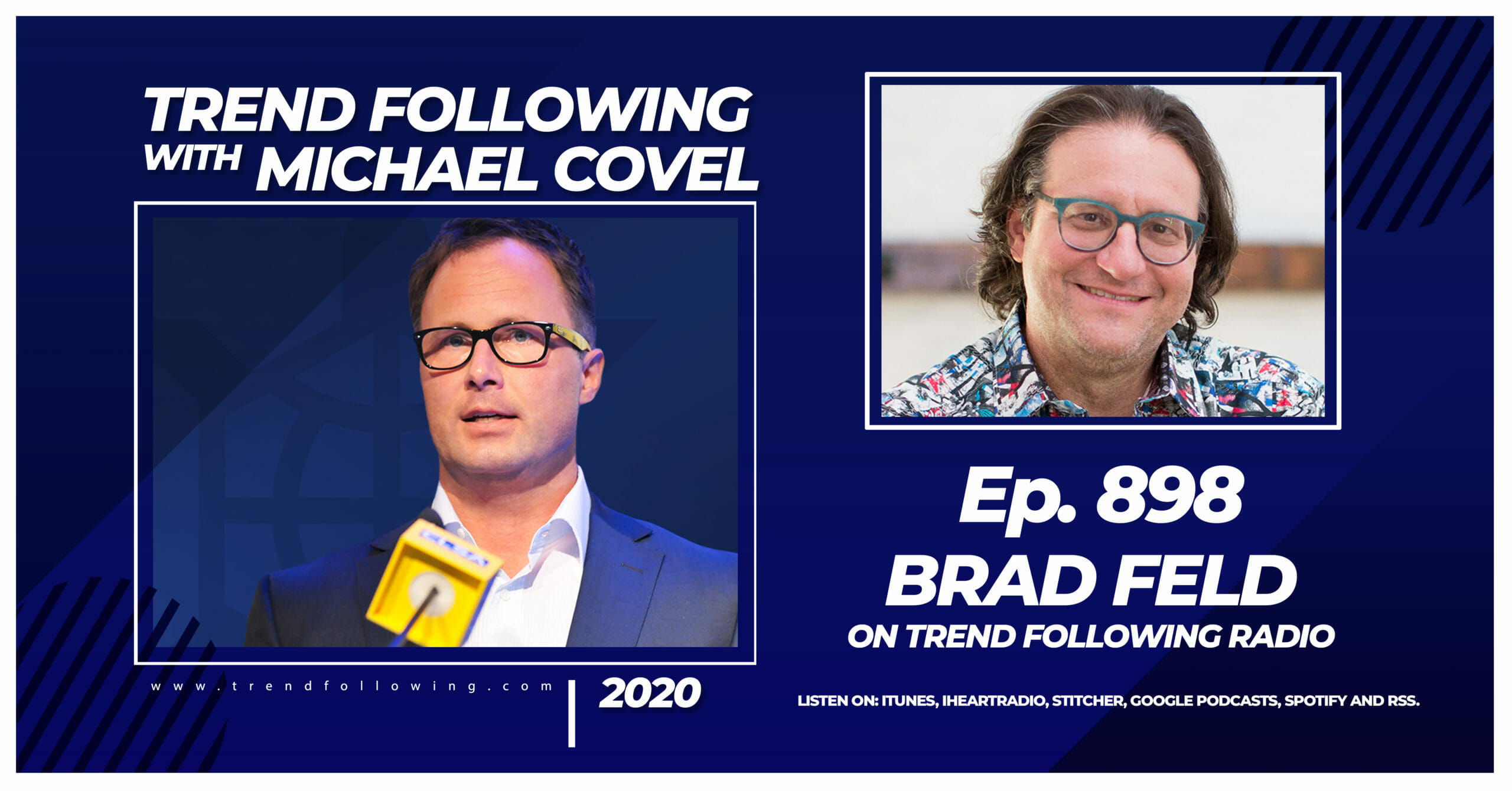Ep. 898: Brad Feld Interview with Michael Covel on Trend Following Radio